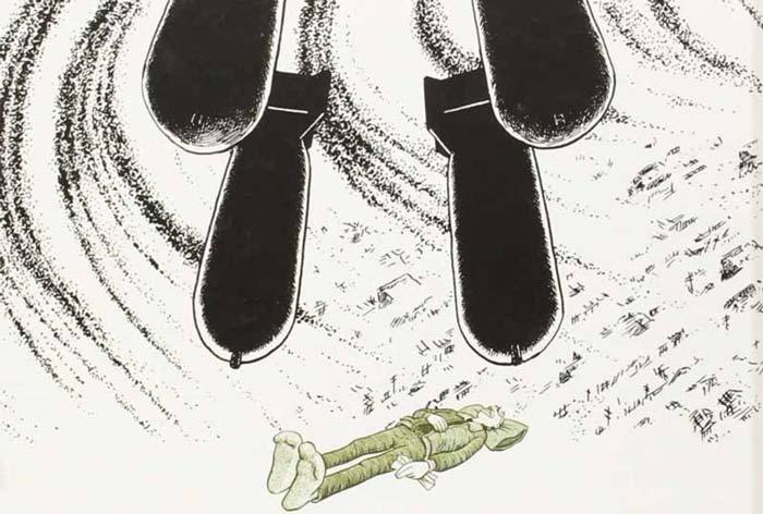 Yonqui de la guerra - Joe Sacco - Maldita Cultura Magazine