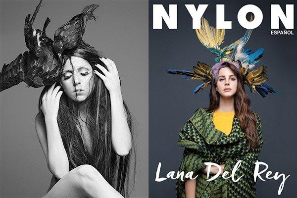 Lady GaGa y Lana del Rey por Hedi Slimane y Esteban Calderón - Maldita Cultura Magazine