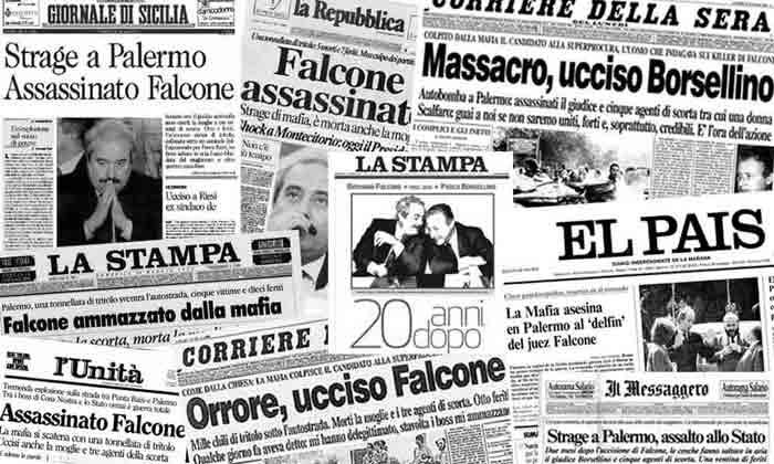 Mafia Titulares periódicos - Maldita Cultura Magazine
