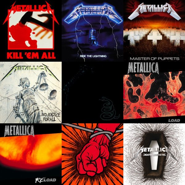 Metallica Covers - Maldita Cultura Magazine