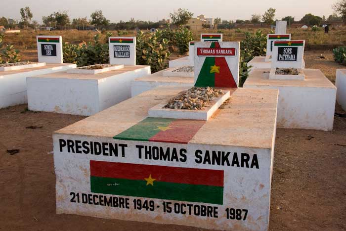 Tumba de Thomas Sankara Che - Maldita Cultura Magazine