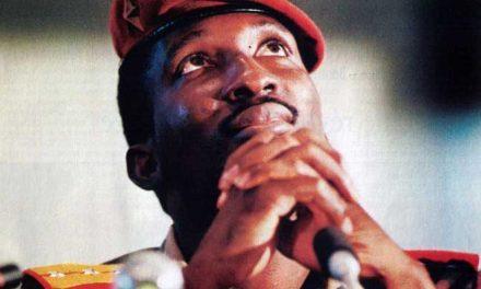 Sankara: Muerte al íntegro, vida al Che negro