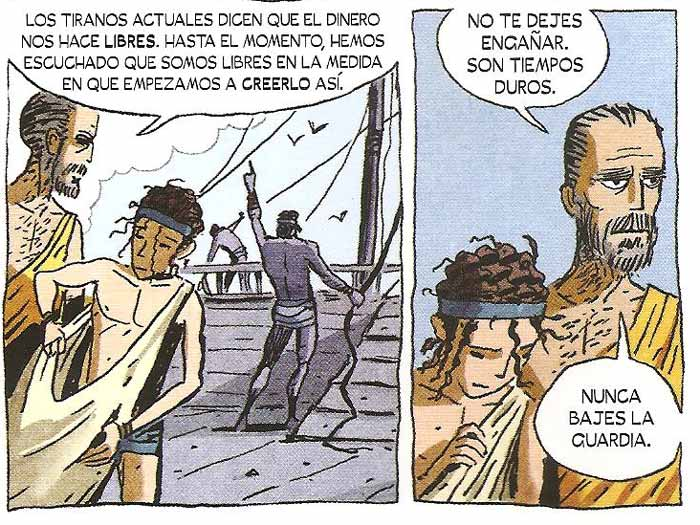 Democracia Novela Gráfica - Maldita Cultura Magazine