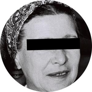 Simone de Beauvoir - Maldita Cultura Magazine