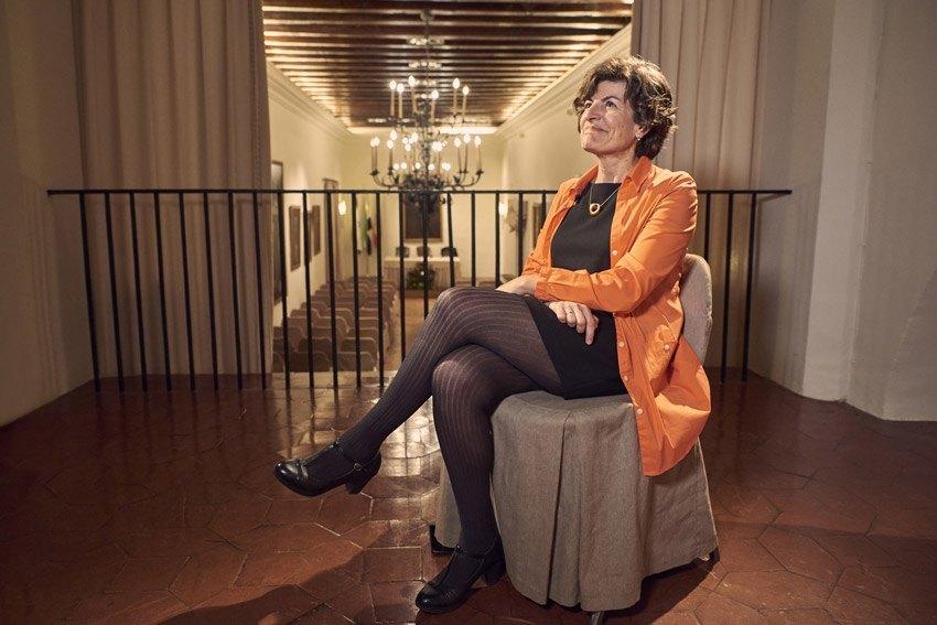 María Ángeles Pérez López: «La poesía es un espacio de resistencia. Es un no, un no grande»