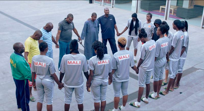 Team Malí: acercando el mundo bajo las canastas