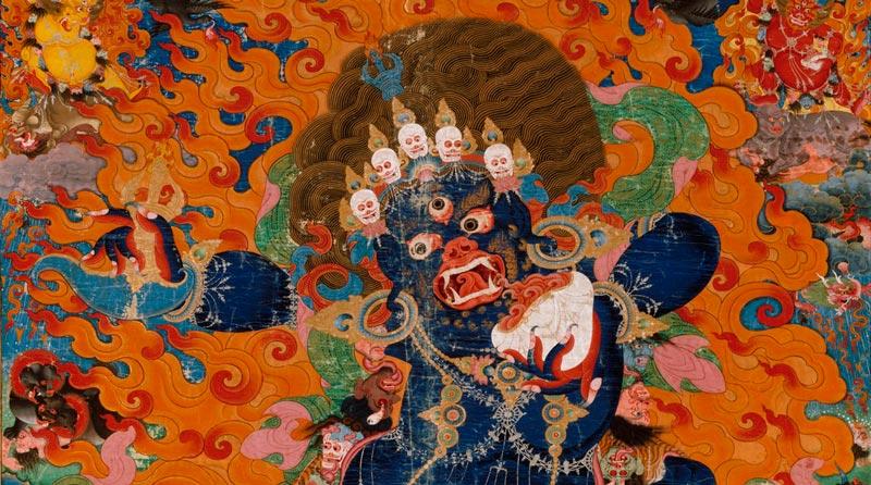 Iama o Gshin rje (གཤིན་རྗེ་གཤེད), deidad de la impermanencia en la mitología védica